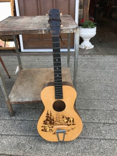 Vintage 1950s Roy Rogers Acoustic Guitar