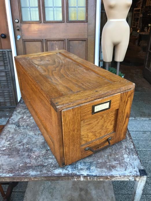 Antique File Box