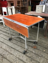Vintage Industrial Kitchen Table