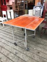 Vintage Industrial Kitchen Table
