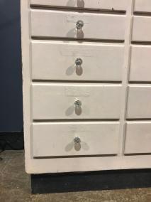 Antique Multi-Drawer Cabinet