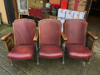 Antique Theatre Seats