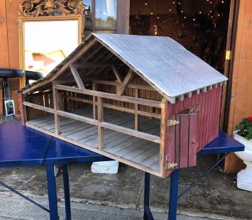 Vintage Scale Model Barn